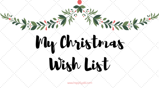 my christmas wish list - My Christmas List