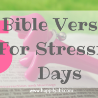 Bible Verses For When You're Stressed