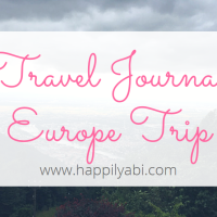 Travel Journal//Europe - June 2017