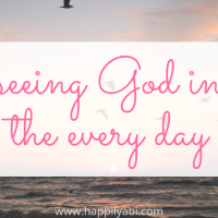 Seeing God in the Everyday