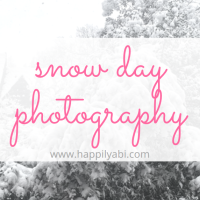 Photography: Snow