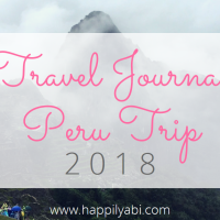 Travel Journal//Peru - March 2018