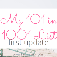 101 in 1001: A Six-Month Update