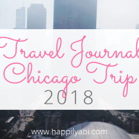 Travel Journal//Chicago - June 2018