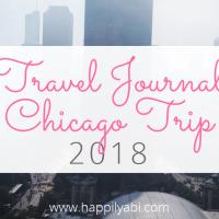 Travel Journal//Chicago - June 2018