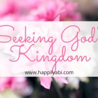 Seeking God's Kingdom in a World Emphasizing Success