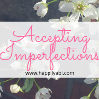 Accepting Imperfection
