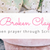 Open Prayer - Broken Clay